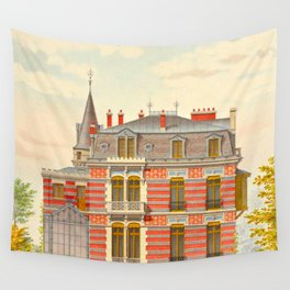Brick constructions; ordinary brick from a decorative point of view - J. Lacroux and C. Détain - 187 Wall Tapestry