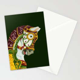 Carousel Horse - Clyde Stationery Cards