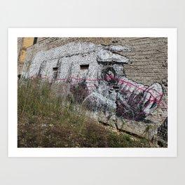 Schweinchen Art Print