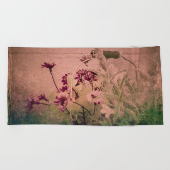 Floral Joy Beach Towel