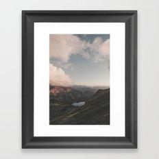 Moonchild - Landscape Photography Framed Art Print