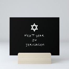 Next year in Jerusalem 5 Mini Art Print