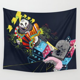 Escape from nothingness Wall Tapestry