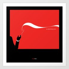 MadMen Final Season Art Print