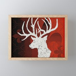 Reindeer Framed Mini Art Print