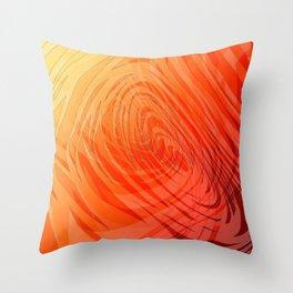 Complex Spiral Sunset3 Throw Pillow