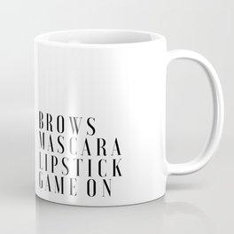 PRINTABLE Art,Makeup Print,Makeup Bathroom Decor,Girls Room Decor,Girls Bedroom Decor,Mascara Print Coffee Mug