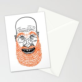 beardy Stationery Cards