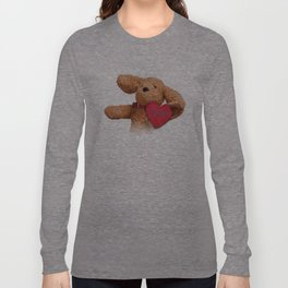 Puppup Celebrating Mother's Day Close-Up Long Sleeve T-shirt