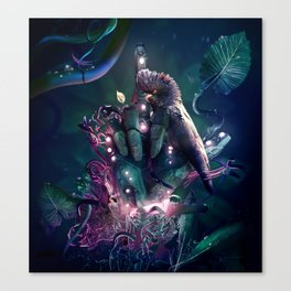 Tweet This Canvas Print