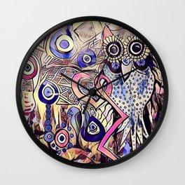 NightOwl2 Wall Clock