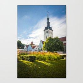 Tallin 1.5 Canvas Print
