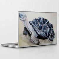 tortoise Laptop & iPad Skins featuring Tortoise by Brooks Cavender