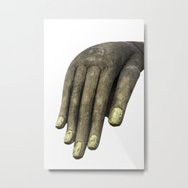 Hand of Buddha, Sukhothai, Thailand Metal Print