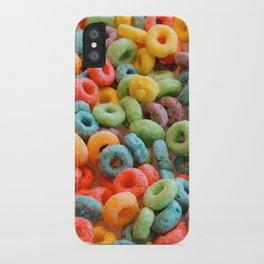 Breakfast Loops iPhone Case