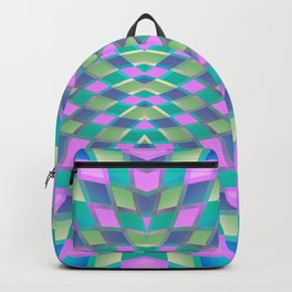 Geometric Kaleidoscope G420 Backpack