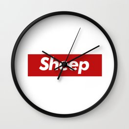 Sheep - Supreme Wall Clock