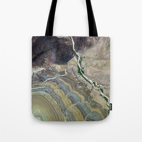 Grand Canyon bird's eye view III Tote Bag
