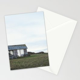 Tiny House, Barn, Summer House, Log Cabin, UK Stationery Cards
