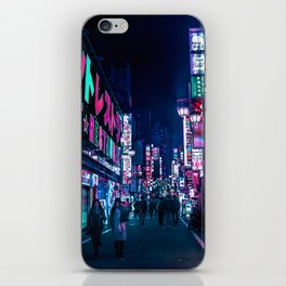 Nocturnal Alley iPhone Skin