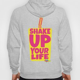 """Shake Up Your Life: Go Vegan"" from VegaFTW™ (Strawberry Banana) Hoody"