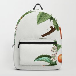 Vintage Scientific Encyclopedia Illustrations Flower Tropical Pear Blossom Backpack