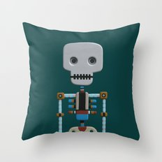 The athlete Throw Pillow