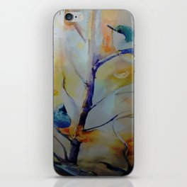 Unique Perspective Birdlife watercolor by CheyAnne Sexton iPhone Skin