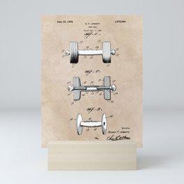 patent art Jowett Dumb Bell 1927 Mini Art Print