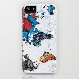 map of the world  iPhone Case