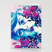 new year Stationery Cards featuring New Year by Enrico Guarnieri 'Ico-dY'