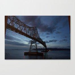 Megler Bridge Canvas Print