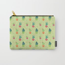 Cactus Party Pattern Carry-All Pouch