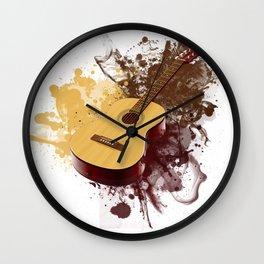 GUITAR DROPS Wall Clock