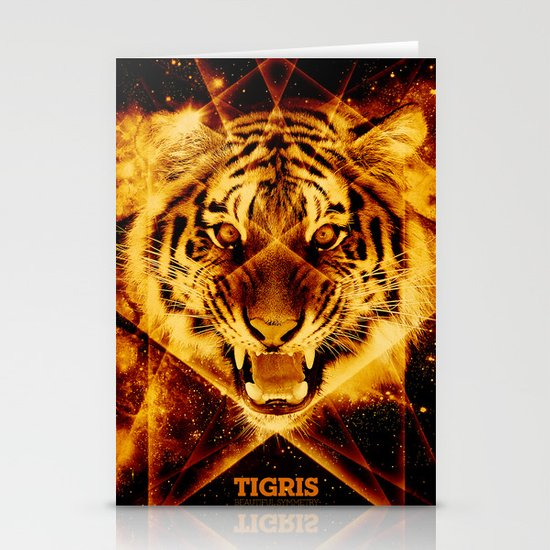 Tigris Beautiful Symmetry Stationery Cards