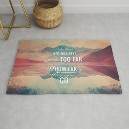 Adventure&Mountain Rug