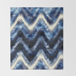 INDIGO WASH Throw Blanket