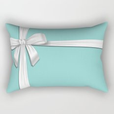 Blue Tiffany Box Rectangular Pillow