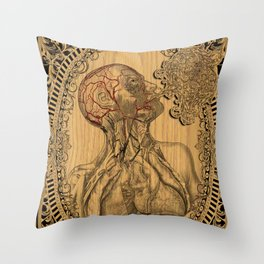 Human Anatomy Throw Pillow