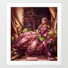 Madame de Hyrule Art Print
