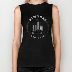 New York, New York Biker Tank