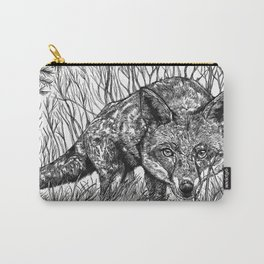 Fox Silhouette Carry-All Pouch