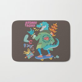 King of Monsters Bath Mat