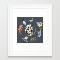 cosmic Framed Art Prints featuring Cosmic by AnnaW