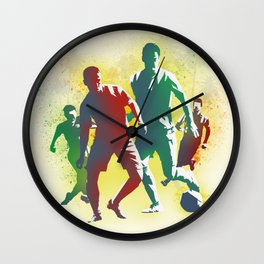 Football is more than a game Wall Clock