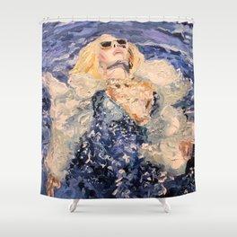 to be lovin & grateful Shower Curtain
