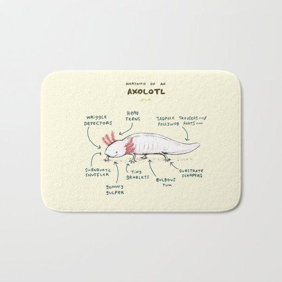 Anatomy of an Axolotl Bath Mat