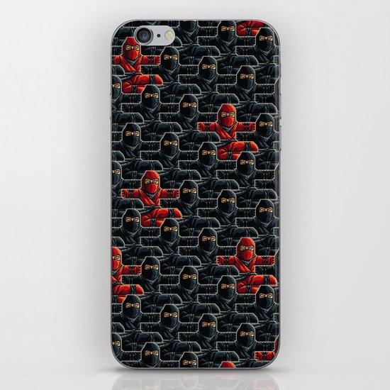 Ninja Attack iPhone & iPod Skin