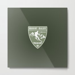 Mount Baldy California Metal Print