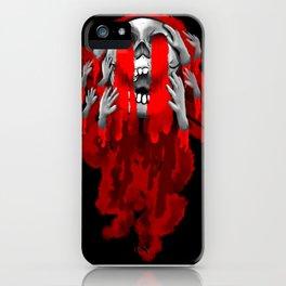 Grabby Skull iPhone Case